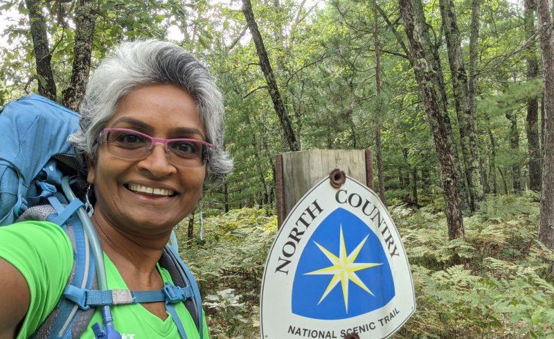 Anandhi Chandran: Hike 100 Finisher